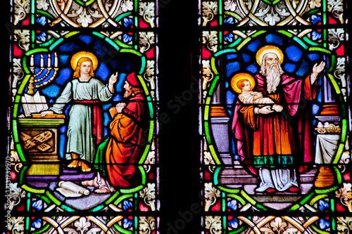 dziecko-mlodosc-jezusa-witraz-narodowa-swiatynia-swietego-franciszka