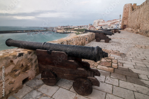 Fotografia  old portuguese military canon