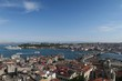 Cruise Ship Near Topkapi Palace at the Golden Horn - Bosporus - in Istanbul, Turkey