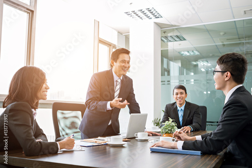 Fototapety, obrazy: Business meeting