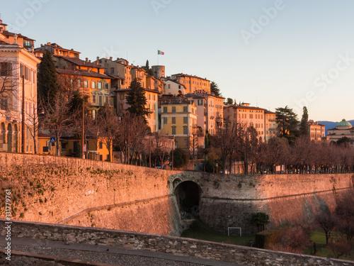 Photo  Bergamo - Old city (Citta Alta)