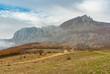View on mountain pasture Demerdzhi, Crimean peninsula