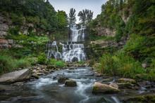 Beautiful Waterfall In Upstate New York