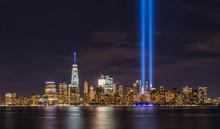 September 11th Lights From Lib...