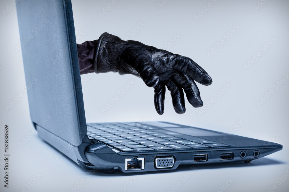 Fototapeta Cybercrime Concept