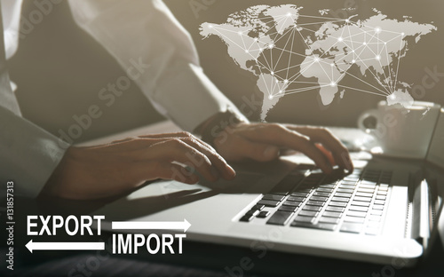 Fényképezés  Logistics concept