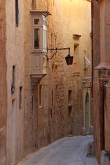 Zabytkowa uliczka na Malcie