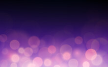 Dark Purple Color Blurred Background With Bokeh And Lens Flare (vector)