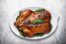 New Year Roasted Turkey With R...