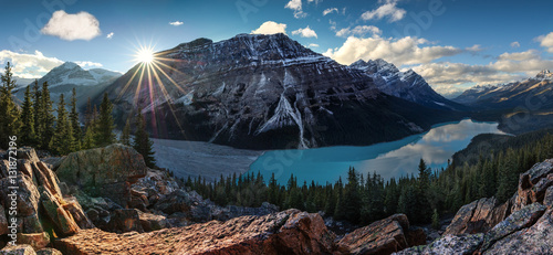 Canada. Peyto lake. Awesome view