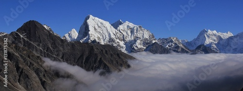 Fotografie, Obraz  High mountains of the Himalayas, Gokyo Valley