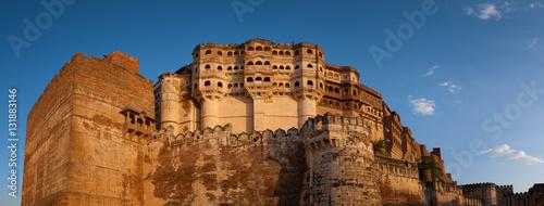 Valokuva  Mehrangarh Fort in Jodhpur, Rajasthan, India