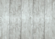 Whitewash Light Gray Wooden Planks Boards Texture Background.
