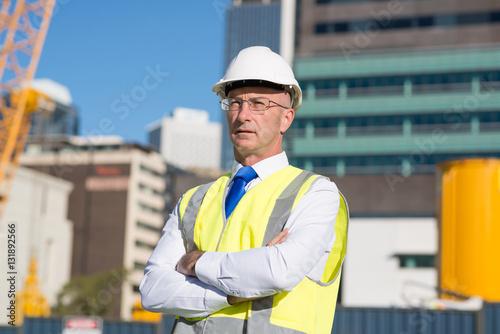 Poster Industrial geb. Senior engineer