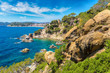 Coast of Lloret de Mar i