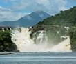 Golondrina waterfalls in Canaima national park - Venezuela, South America