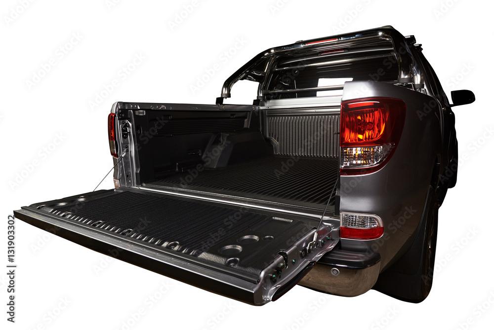 Fototapety, obrazy: Opened modern trunk pickup