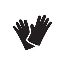 Gloves Icon Illustration