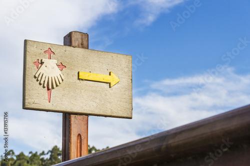 Fotografie, Obraz  Sign of the Jacobean route