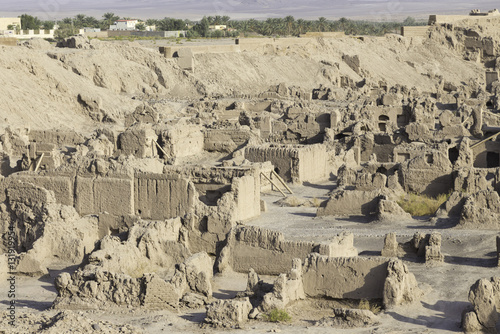 Foto op Plexiglas Xian Ancient ruins islamic iranian citadel in Bam (Arg-e Bam), Iran