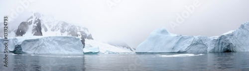 Photo sur Aluminium Antarctique Landscape, Antarctic