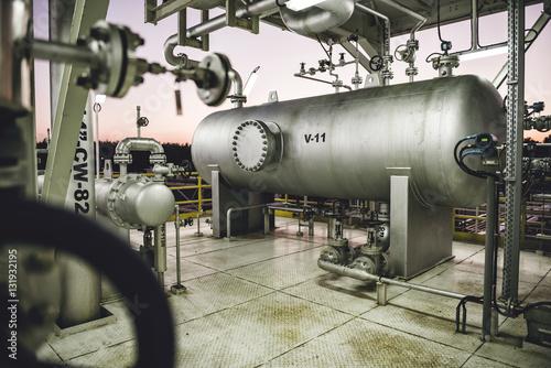 Photo  Natural gas processing facility