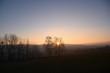 Sonne geht unter überm Land