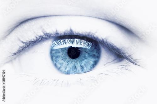 Fotografie, Obraz  Blue Eye