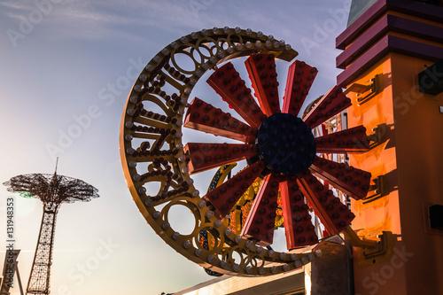 Fototapeta Znaki na Coney Island