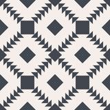 Bezszwowe tło wektor. Czarno-biały kwadrat i tekstura trójkąta. Abstrakcyjny wzór. - 131969321