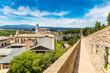 Panoramic view of Girona
