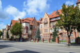 Fototapeta Miasto - Centrum Ełku/Elk-the city center, Masuria, Poland