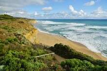 The Gibsons Steps Cliffs In Po...