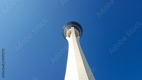 In de dag Las Vegas Stratosphere tower