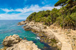 Costa Brava beach, ..Catalonia, Spain