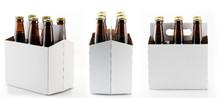 Six Bottles Of Beer In Cardboa...