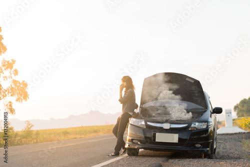 Fotografía Broken car