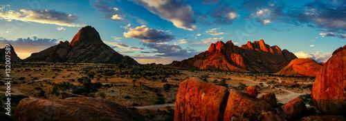 Foto auf Leinwand Afrika Spitzkoppe Nature Reserve, Namibia