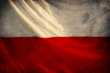 Poland Flag ,grunge And Retro Flag Series