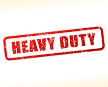 Heavy Duty Text Buffered