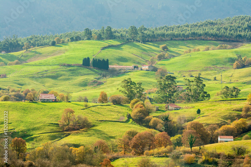 countryside at cantabria, spain