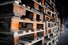 Background Wooden Pallets. Fur...