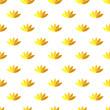 lotus flower seamless pattern. Vector
