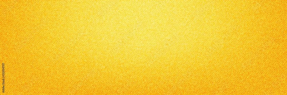 Fototapeta Yellow Denim Textile background