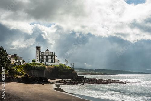 Naklejka premium Sao Roque church, San Miguel, Azores