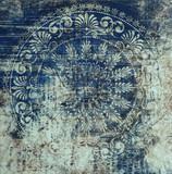 Dachówka tła, abstrakcyjny rysunek - 132043587