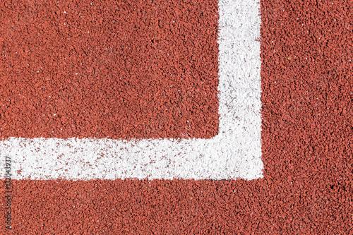 Fotografie, Obraz  White line of football field