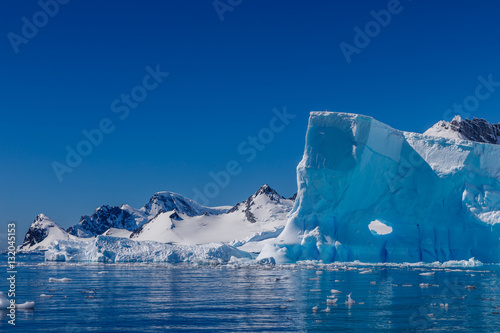 Door stickers Antarctic Eisberg in der Antarktis