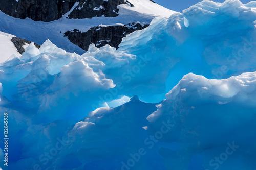 Foto auf Leinwand Antarktis Eisberg in der Antarktis