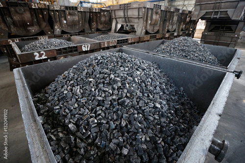 anthracite coal Wallpaper Mural